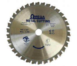 Omega Steel Cutting Circular Saw Blade for Cordless
