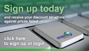 Sign up today for discounts on all our tool fixings and accessories - click here for details >>
